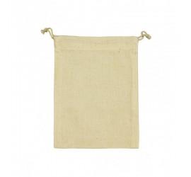 Mała torba bawełniana ze sznurkiem