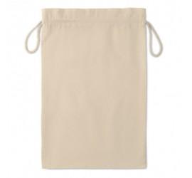 Duża torba bawełniana ze sznurkiem