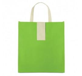 Limonkowa, składana torba na zakupy