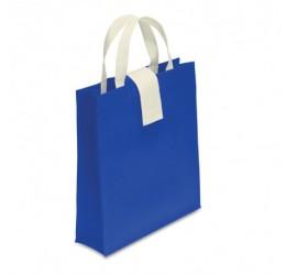 Niebieska, składana torba na zakupy