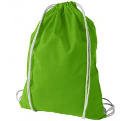 Zielony worek z bawełny