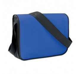 Niebieska torba na ramię